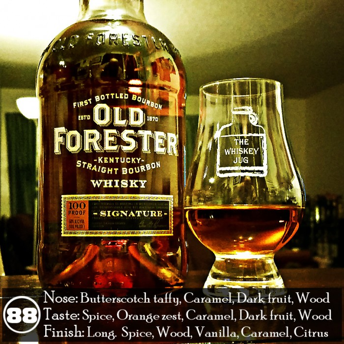 Old Forester Signature 100 Proof