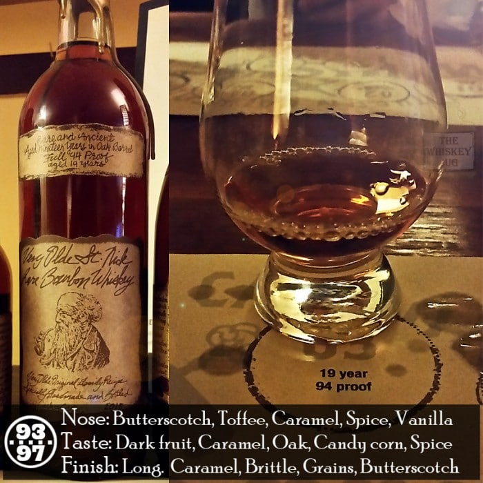 Very Olde St. Nick – 19 yr Rare Bourbon Whiskey Review