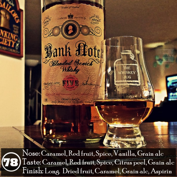 Bank Note 5yr Blended Scotch