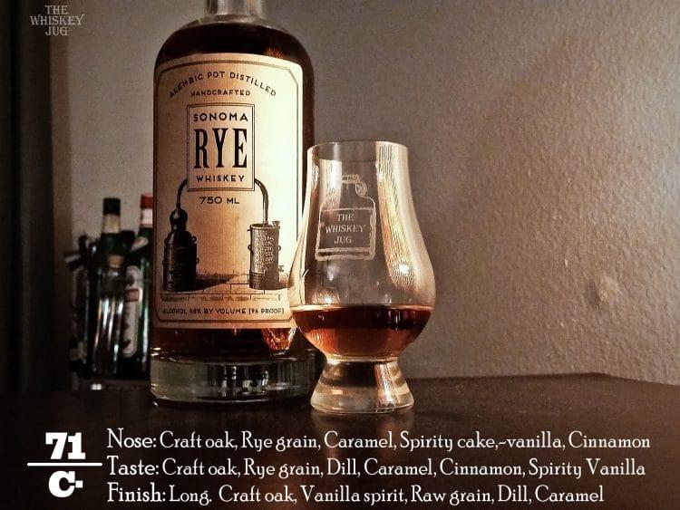 Sonoma Rye Whiskey Review