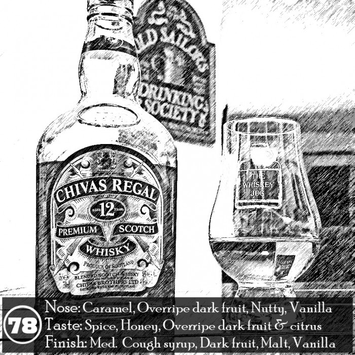 Chivas Regal 12 year Review