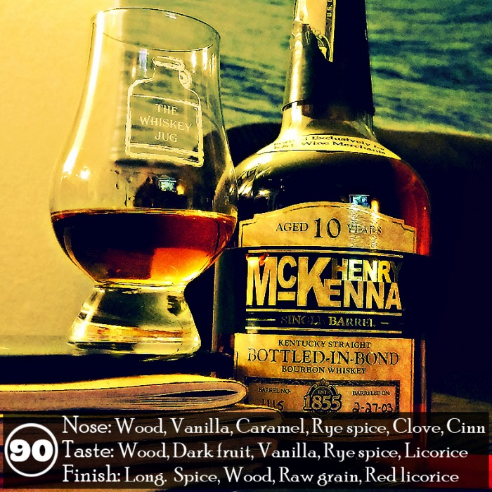 Henry McKenna Single Barrel Bourbon Bottled In Bond Review