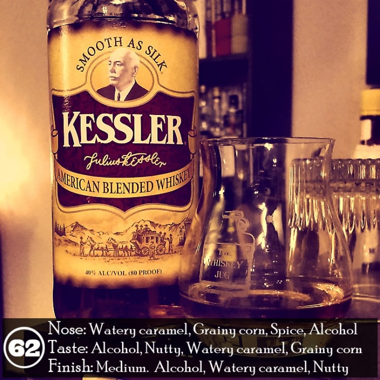 Kessler American Blended Whiskey Review