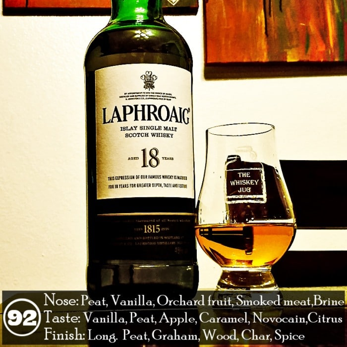 Laphroaig 18 years Review