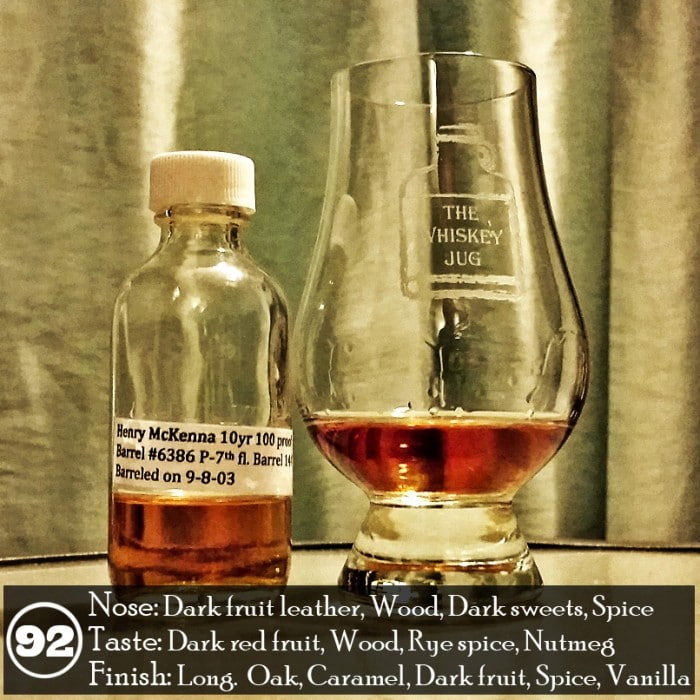 Henry McKenna 10 yr Bottled In Bond - Everson Royce Review