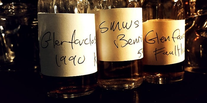 K and L Glenfarclas and SMWS Benrinnes