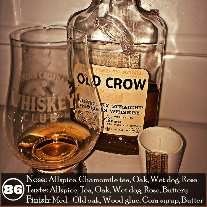 Old Crow Bottled In Bond Review