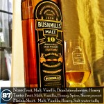 Bushmills 10 years Irish Single Malt Review