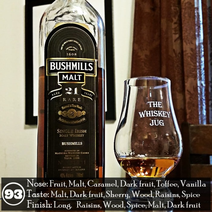 Bushmills 21 years Review