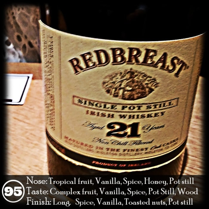 Redbreast 21 years Review