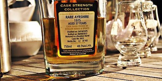 Malt Nuts - Signatory Vintage Rare Ayrshire 37 Years - Ladyburn