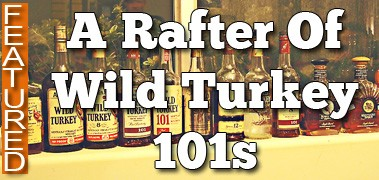 A Rafter of Wild Turkey 101 - Featured