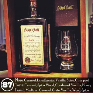 Blood Oath Bourbon Pact No.1 Review