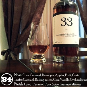 Cutler's 33 Straight Bourbon Whiskey Review