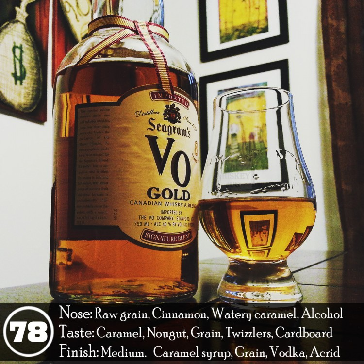 Seagram's VO Gold Review