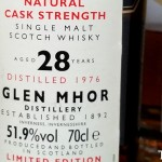 1976 Glen Mhor 28 years Rare Malts Review