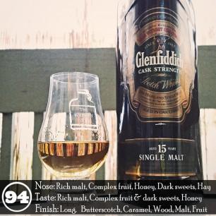 Glenfiddich 15 Cask Strength Review