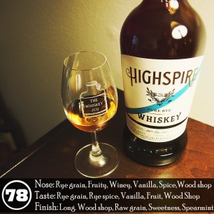 Highspire Rye Whiskey Review