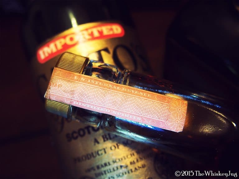 bottle stamps liquor strips revenue that time