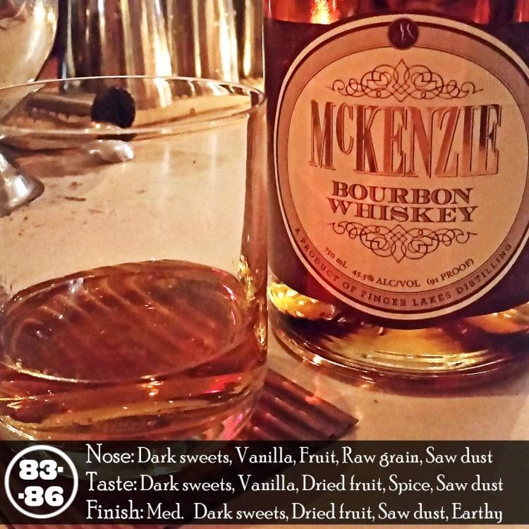 McKenzie Bourbon Whiskey Review