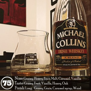 """Michael Collins """"The Big Fellow"""" Blended Irish Whiskey Review"""