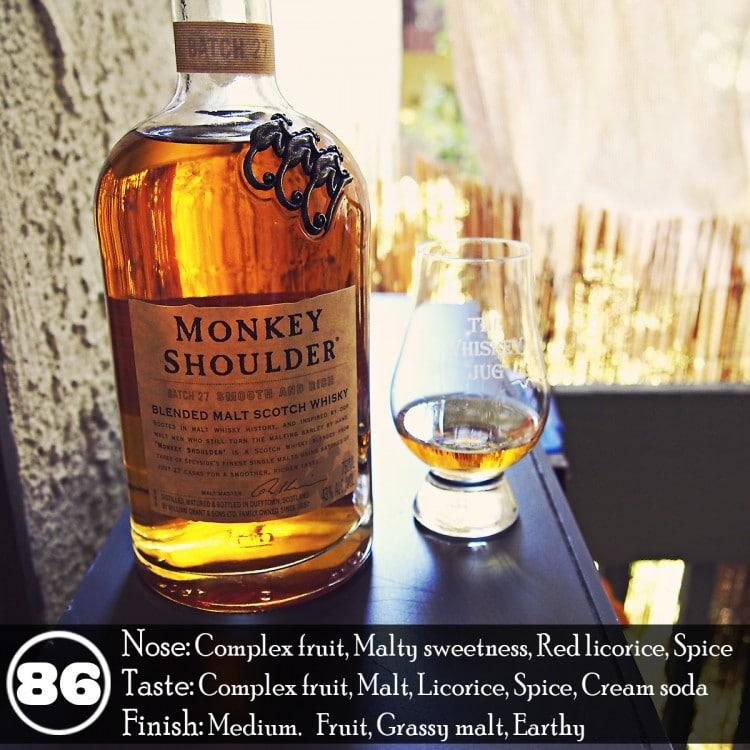 Monkey Shoulder Blended Malt Whisky Review