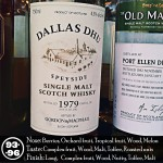 1979 Dallas Dhu 33 years Gordon & MacPhail Review