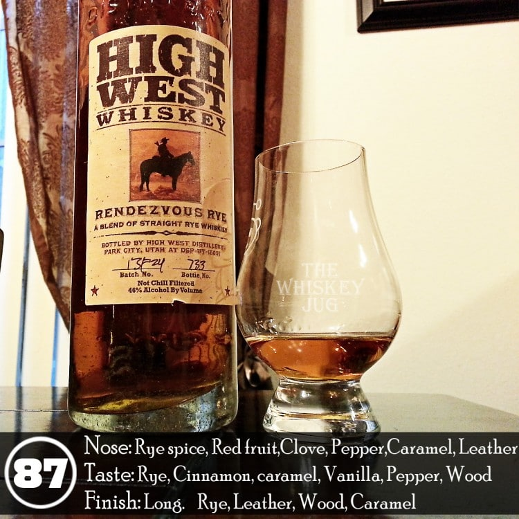 High West Rendezvous Rye Review - Batch 13F24