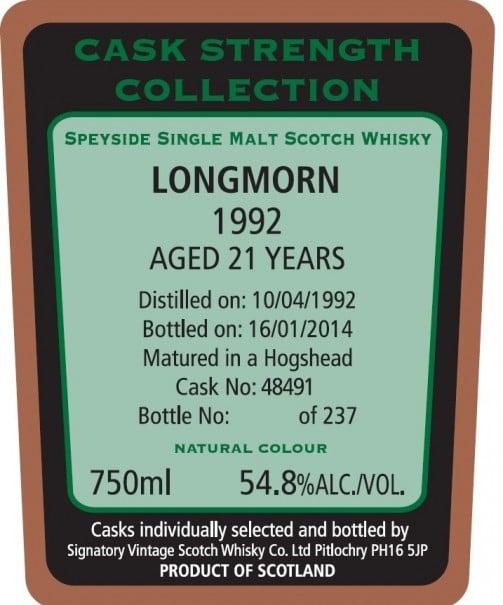 Longmorn 92