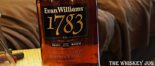 Evan Williams 1783 Label