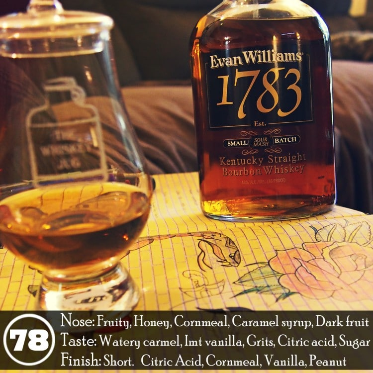 Evan Williams 1783 Review