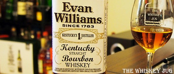 Evan Williams Bottled In Bond Label