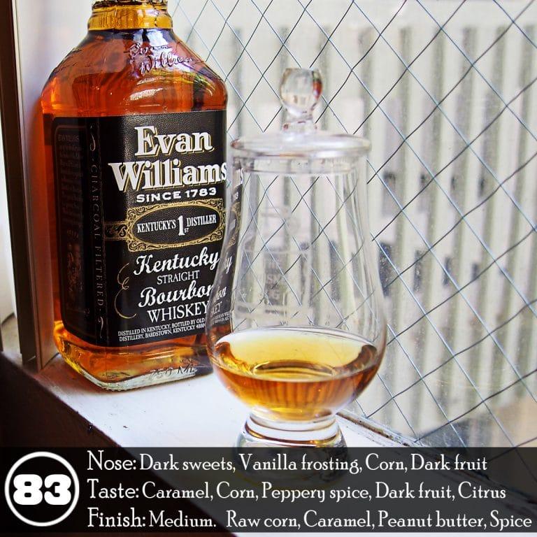 Evan Williams Bourbon Green Label