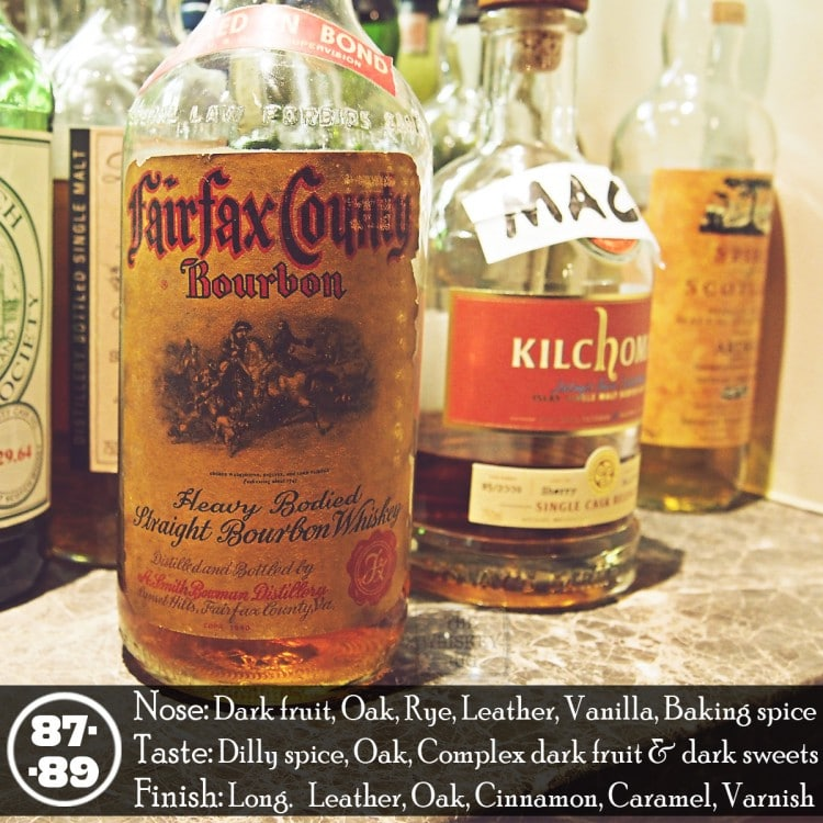 Fairfax County Bourbon Review