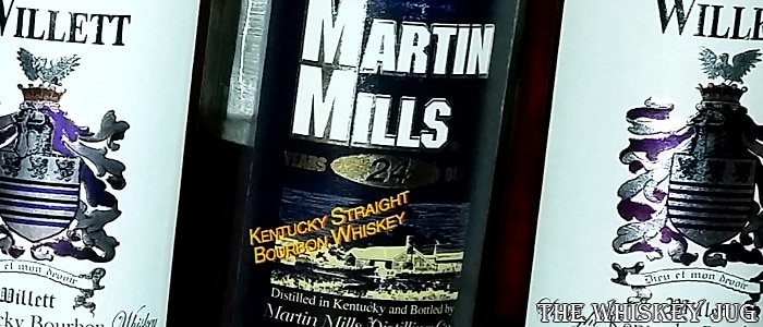 Martin Mills 24 years Bourbon Label