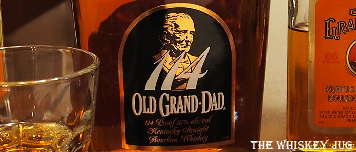 Old Grand-Dad 114 label