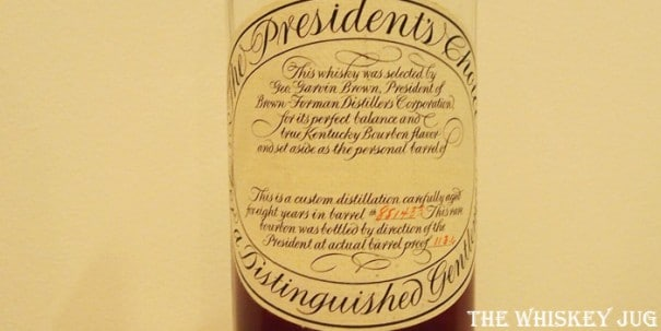 Brown-Forman President's Choice Label