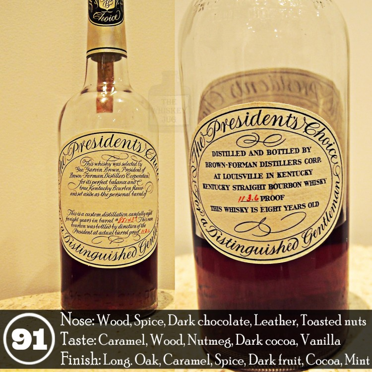 Brown-Forman President's Choice Review