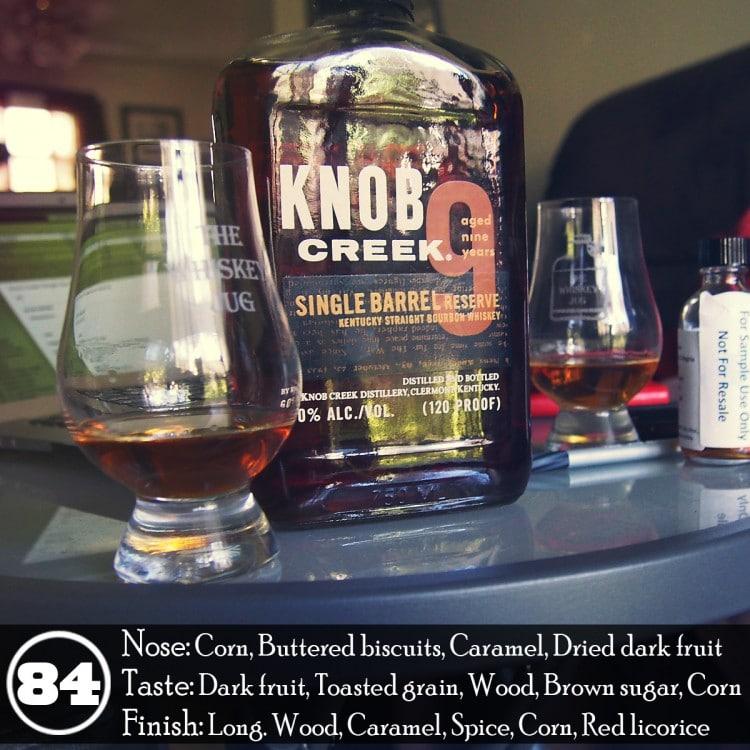 Knob Creek Single Barrel Reserve Review