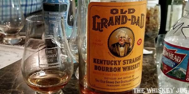 Old Grand-Dad Bottled In Bond 1949 Label