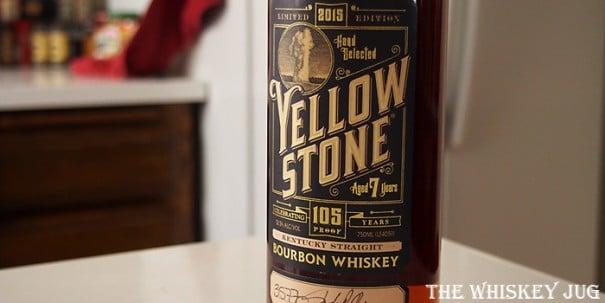 Yellowston Limited Edition Bourbon Label