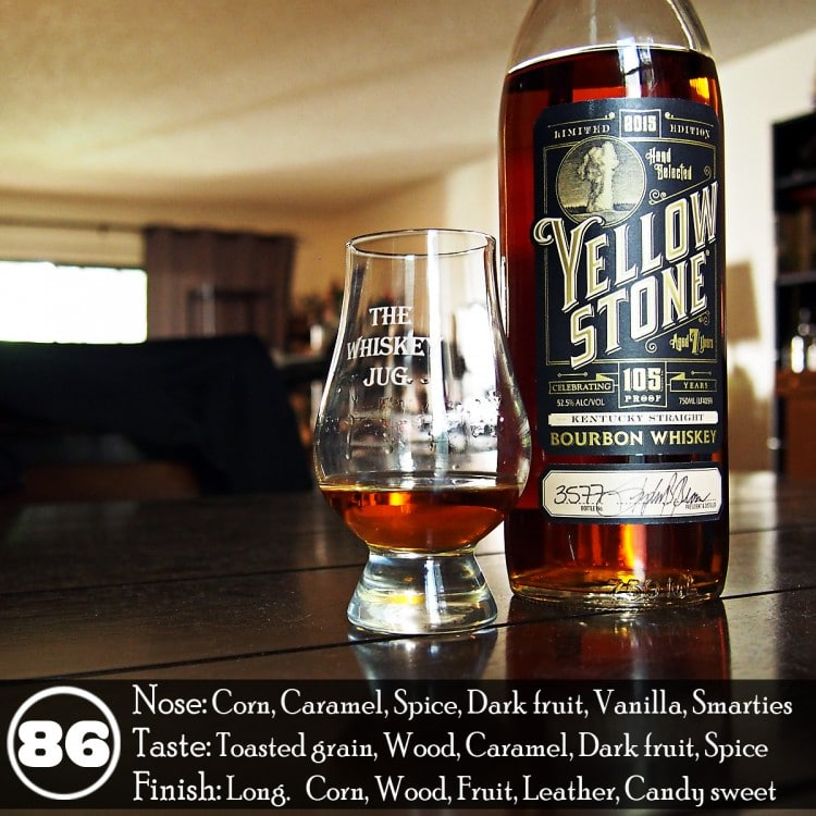 Yellowston Limited Edition Bourbon Review