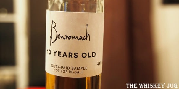 Benromach 10 Years Label