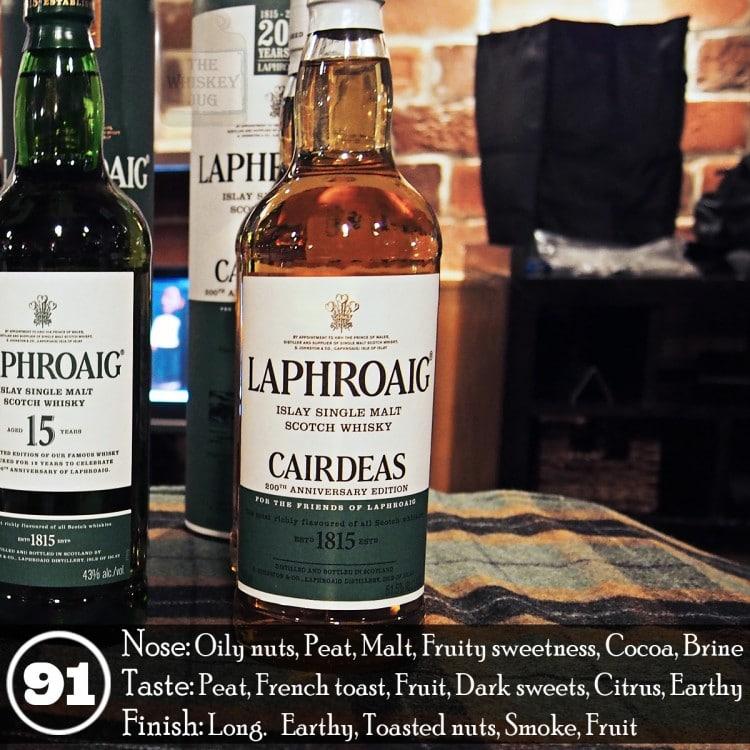 Laphroaig Cairdeas 2015 Review