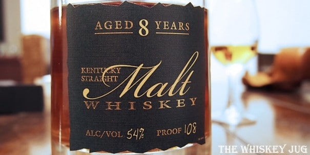 Parker's Heritage Malt Whiskey Label