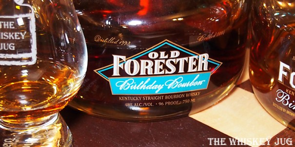 2006 Old Forester Birthday Bourbon Label
