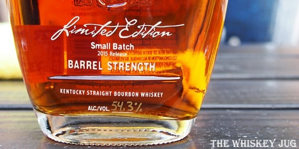 2015 Four Roses Small Batch Limited Edition Label
