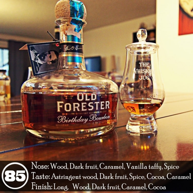 2015 Old Forester Birthday Bourbon Review