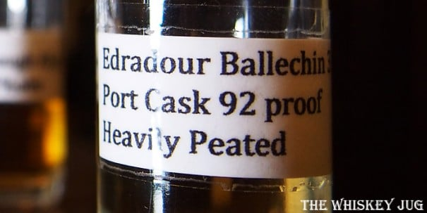 Edradour Bellachin 3 Label