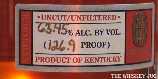 Thomas H Handy Rye Label